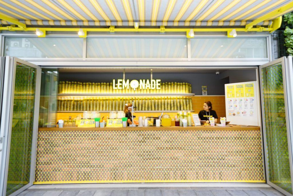 レモネード専門店「LEMONADE by Lemonica渋谷ストリーム店」