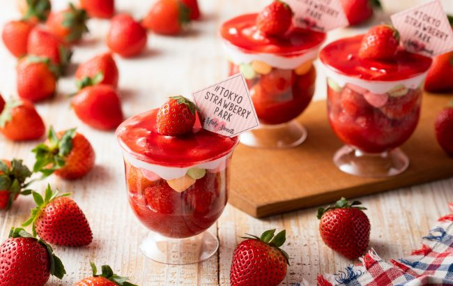 昨年1.8万食売り上げた「めっちゃいちごパフェ」をワンコインで販売!「TOKYO STRAWBERRY PARK」『Yokohama Strawberry Festival 2020』出店のお知らせ